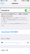 VoiceOver on Apple devices