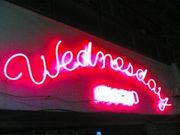 「wednesday」