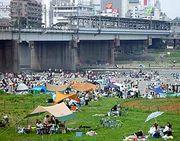 多摩川でBBQしよう!