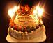 麺の誕生日を本気で祝う。