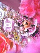 デコ電小物♡pink tiara