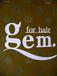 gem. for hair