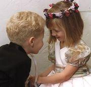 結婚式で わいわい♪