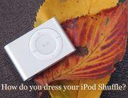 New iPod Shuffle を着こなす