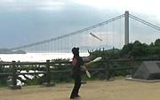 岡山でジャグリングとバルーン