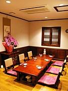 新宿 韓国会席 百済