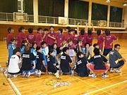 日本大学国際関係学部羽球部