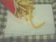 マクドナルドのしなしなポテト