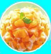 マンゴかき氷♡