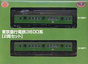 鉄コレ・東急車と譲渡車