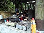 市民の森で豚汁を食べる会!