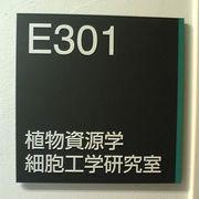 植物資源学・細胞工学研究室