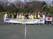 韓国人とテニスする!IN 東海