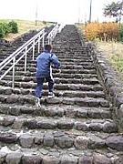 階段ダッシュ!!