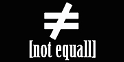 [not≠equall]