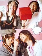 尾崎と三浦の笑顔
