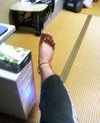 脚だいすき>_<