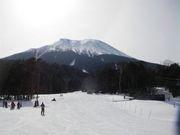 御嶽山のスキー場