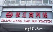 上海張江高科駅の会