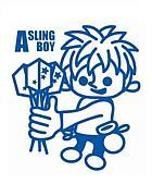 A SLING BOY