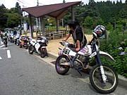 六甲山 丁字ヶ辻のバイク乗り!!
