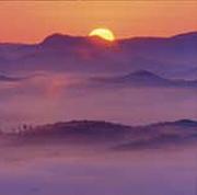 絶景「佐用の朝霧」に感動!