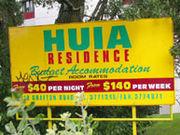 New Zealand  -HUIA Hostel-