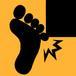 足の小指を打つ