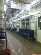 *都営新宿線で通学してる学生*