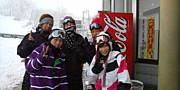 スノーボード 雪達磨