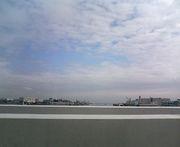 湾岸線から見る景色が好き!