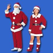 サンタ服着ます!