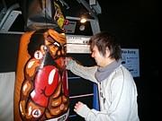 鶴川の速射砲、新間さんを応援!!