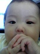 赤ちゃんの二重アゴに安心感