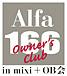Alfa 166 Owner's Club mixi�̴�