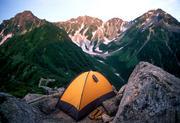 テントを担いで山に登ろう!