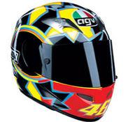 ロッシのヘルメット AGV HELMET
