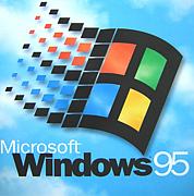 パソコンはWindows95から始めた