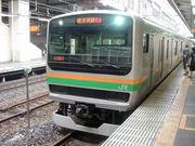 湘南新宿ラインDEテニミュ