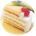 パステルのプリンケーキが好き!
