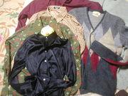 シャツ(襟有り)とカーディガン