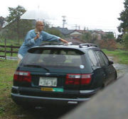 洗車したら雨が降る。
