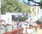 ホノルルマラソンに行く大学生