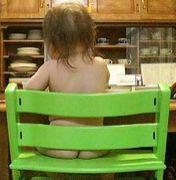 裸♪自然育児