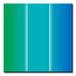 緑と青の間の色