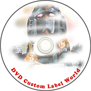 DVD Custom Label World