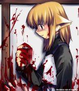 返り血に濡れる女の子好き