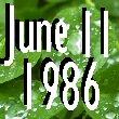 昭和61年6月11日生まれ♡