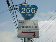 国道256号線