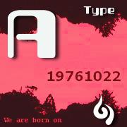 '76.10.22生まれ【A型】